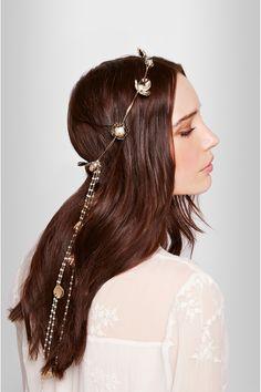 Rosantica|Poesia gold-tone pearl headband |NET-A-PORTER.COM