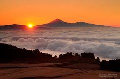 El Teide desde El Hierro. Foto: Saul Santos