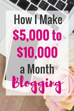 I can't believe you can make $5,000 - $10,000 working part time on a blog?!?!!! I work way harder than that for way less. This girl explains how she works her blogging schedule around her family and makes more in her evenings, weekends, and free time that most people do a a full time job! She has the income report to prove it!   make extra money, how to start a blog to make money, free blogging tutorial, make extra cash on the side, side hustle income, money making idea