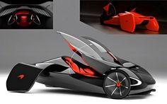 The concept at hand is the McLaren JetSet, a one-seater concept car that is designed for McLaren futuristic car that is lightweight and fuel-efficient. The result is a 100% electric car that features a backside outfitted with drag-reducing draped fenders.