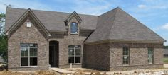 Ashton with Buff Brick Companies, Brown Brick, Brick Colors, Home Builders, Natural Stones, Outdoor Living, Exterior, Cabin, House Styles