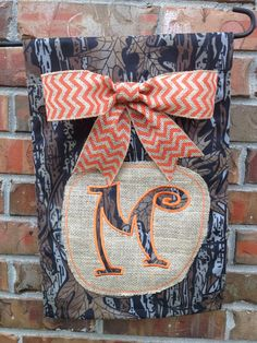 I'm so gonna order one of these!! super cute Personalized Camo Garden Flag by embroiderybyhannah on Etsy, $23.00