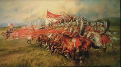 Charge of the Polish Winged Hussars