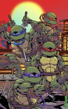 Teenage Mutant Ninja Turtles by MikeLancette.deviantart.com on @DeviantArt