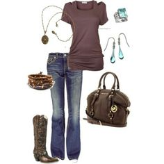 Cute Rodeo Outfit ;)
