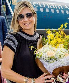 """Queen Maxima on Instagram: """"31-05-2017 Koningin Maxima in Vietnam Queen Maxima in Vietnam #queenmaxima #koninginmaxima #koningin #nederland #netherlands #vietnam…"""""""