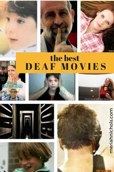 Over 20 of the best deaf-recommended deaf movies, covering deaf documentaries, deaf narrative movies and best deaf tv shows   deaf   deaf pride   deaf awareness   ASL education   sign language learning   ways to learn sign language   deaf movies   ASL movies   movies with ASL and deaf characters  