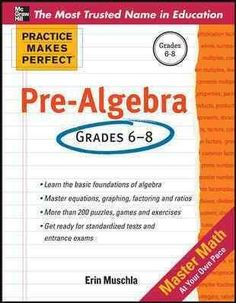 Pre-algebra skills come easy with plenty of practice! If you are looking for extra pre-algebra help for your child, this invaluable resource has it all. Featuring hundreds of exercises, Practice Makes More