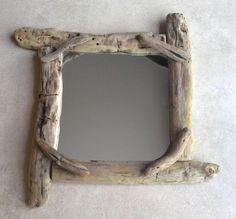 Mes créations en bois flotté - Miroir bois flotté - Vos créations en bois flotté