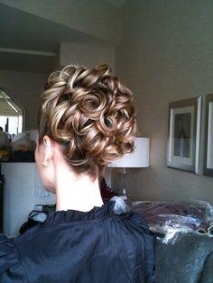 Bridesmaids hair :)