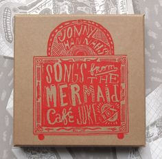 Jonny Hannah's 'Songs From The Mermaid Café Jukebox' CD/print box set - limited to 250 signed and numbered copies. http://www.stjudesprints.co.uk/collections/jonny-hannah/products/songs-from-the-mermaid-cafe-jukebox