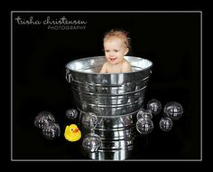 This Is What The Picture (Baby In Tub Set Up) Looks Like After...