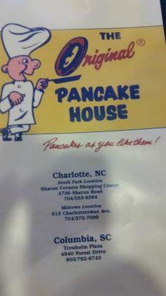 The Original Pancake House - If you want some good pancakes