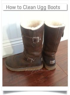 Wearing Ugg boots are so cozy and warm, you don't want to take them off. But we all know  the downside of Ugg boots is its unsightliness once it gets dirty with all grime and odors due to constant wearing.    Check out some practical tips in cleaning your boots once unavoidable arises.   #ugg_boots, #cleaning_ugg_boots