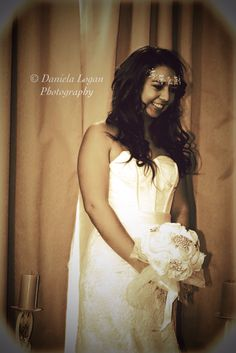 Perfect look for a beach wedding copyright Daniela Logan Photography