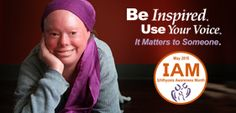 May is Ichthyosis Awareness Month. Be Inspired. Use Your Voice. It Matters to Someone.