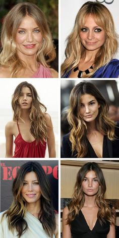 Balayage hairspiration ☜♥☞   Balayage colour is enhanced by having layers in your hair. It looks more natural with some texture in your hair or soft waves as it disguises where the highlights begin. ☜♥☞  http://www.hairromance.com/2012/03/balayage-hair-colour-inspiration.html#  ☜♥☞