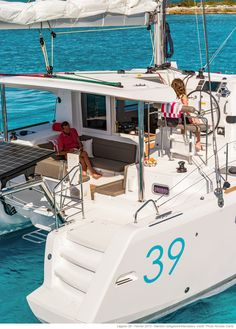 Lagoon catamarans : building, sale and chartering of luxury cruising catamarans