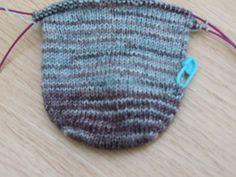 Free round toe sock pattern on ravelry!