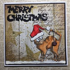 kreativMANUfaktur: Weihnachtskarten, Klappe die 5.