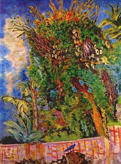 Pierre Bonnard (1867-1947) - The blue bird c1942