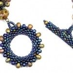 Beaded Toggle and Loop