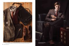 Men's fashion, photography