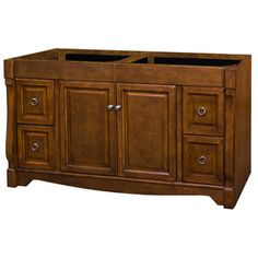 Lowes allen   roth�Bathroom Vanity (Common: 60-in x 21-in; Actual: 60-in x 21.5-in)