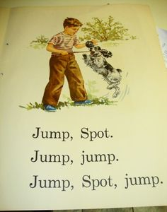 Loved learning to read with Dick, Jane, Sally, Spot, etc.!