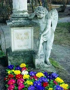 Mozart's grave site