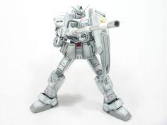 HGUC 1/144 Gundam Ground Type - Painted Build Modeled by caseofg