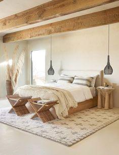 Charming Bohemian Home Interior Design Ideas Bedroom Inspo, Home Decor Bedroom, Bedroom Furniture, Bedroom Ideas, Bali Bedroom, Bedroom Neutral, Bedroom Signs, Diy Bedroom, Furniture Design