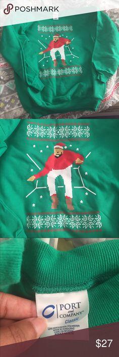 Drake Hotline Bling Unisex Sweat Shirt 🎄 Size ADULT Medium Unisex. Not a regular women Medium. Brand NEW Never Worn❌❌❌❌NO TRADES🚫🚫🚫 Sweaters Crewneck