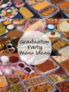 Find amazing menu ideas from GFS Marketplace online now! Find amazing menu ideas from GFS Marketplace online now! Graduation Party Foods, Graduation Party Planning, College Graduation Parties, Graduation Celebration, Grad Parties, Graduation Ideas, Outdoor Graduation Parties, Graduation 2015, Graduation Gifts