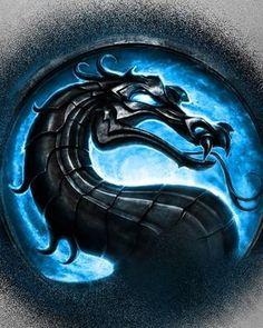 Mortal Kombat ~ Stone Dragon blue background