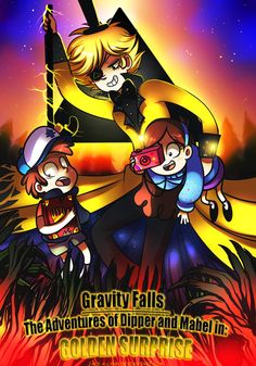 Gravity Falls Comic Cover by Vulpeca