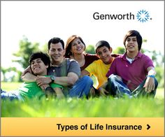 Types of life insurance (Source: Genworth)