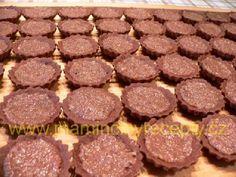 Košíčky Izidor Beef, Cookies, Chocolate, Desserts, Food, Meat, Crack Crackers, Tailgate Desserts, Deserts