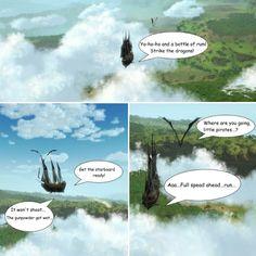 Lucky pirate #luckcatchersmmo #dragon #world #weapons #friendship