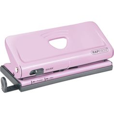 Rapesco Adjustable 6-Hole Organizer/ Diary Punch (Pink) RPC1322