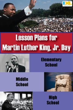In honor of MLK Day, we're sharing some lesson plans to teach students of all ages about nonviolence & civil rights. High School Activities, Social Studies Activities, English Lesson Plans, Teacher Resources, Teaching Ideas, School Teacher, Civil Rights, Elementary Schools, Planer