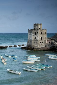 Mogadishu Lighthouse in Somalia