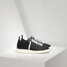 Golden Goose DB Starter Sneakers Dans Calf Leather WS631A4 - Golden Goose Femme Sneakers Soldes