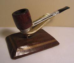 Vintage Delta Duncan Aluminum Filter Plus Straight Briar Estate Tobacco Pipe