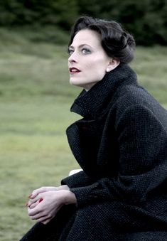 "Irene Adler played by Lara Pulver in Sherlock s02e01 ""A Scandal in Belgravia"""