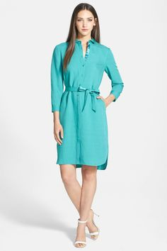 'Agner - Enclave Cloth' Shirtdress by Lafayette 148 New York on @nordstrom_rack