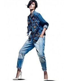 EDITORIAL - Jeans nada básico na Vogue Brasil - Notícias - Guia JeansWear : O Portal do Jeans