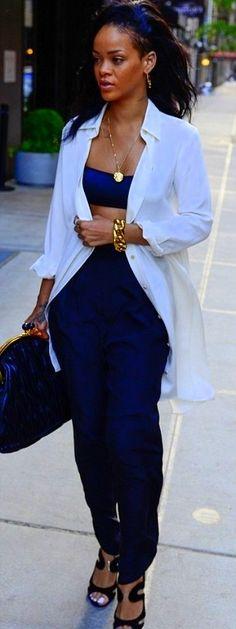 Rihanna #styles #fashion
