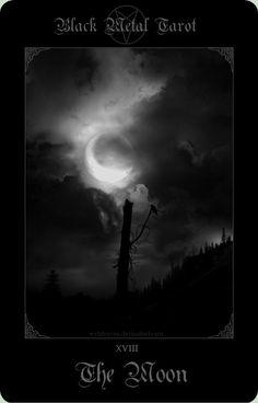 Black Metal Tarot 1 by wyldraven.deviantart.com