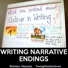 I have to be honest. Teaching writing is tough. Each year, I set out to build a community of writers, and it is no easy task. One of the toughest things for my students is writing endings. They alw…